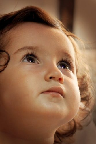 Kisgyerek - Keresztelő - Vigyázó angyalka lámpa